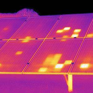 Inspections aériennes par drone - Cliche thermographie par drone