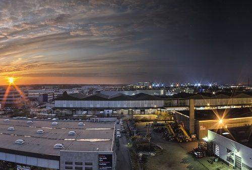 surveillance site industriel par drone