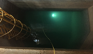 ROV inspection réservoir