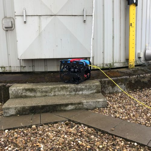 robot sous marin inspection reservoir incendie